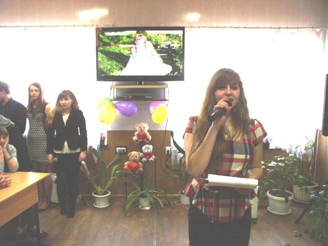 Зеленська Олена читає власний вірш про кохання
