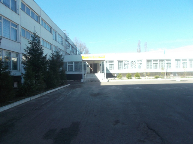 Фасад Спецшколи №8