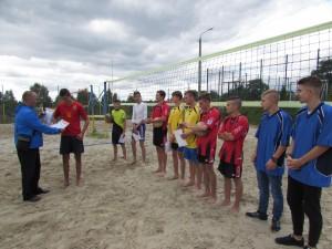 Нагородження призерів змагань