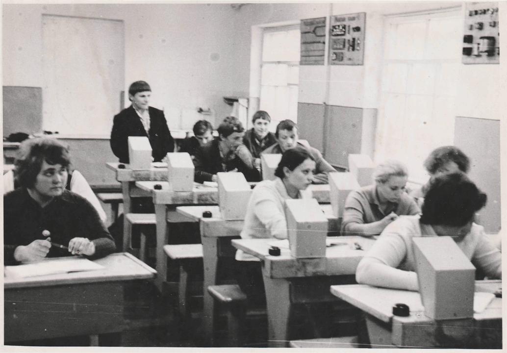 Радіомайстерня 1973 рік.
