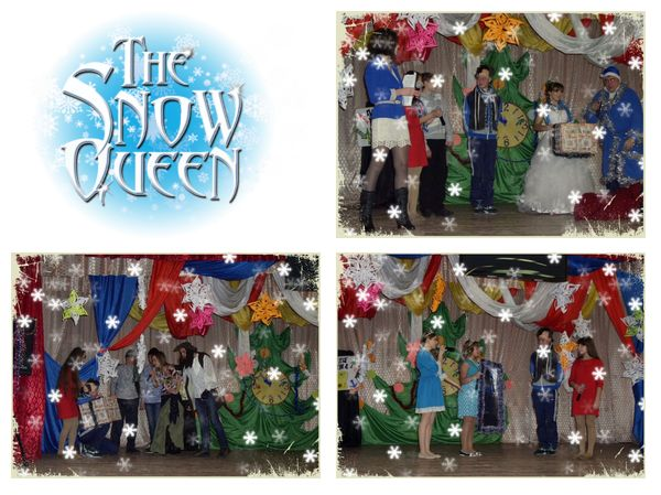"Спектакль за казкою Г.К. Андерсена ""Снігова Королева"" – ""The Snow Queen"""
