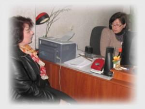 Під час зустрічі з директором Пересічанської ЗОШ