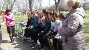 Спілкування з випускниками ЗОШ №4 м. Чугуїв