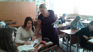 З випускниками Чугуївської ЗОШ І-ІІІ ступенів №1 ім.І.Ю.Рєпіна